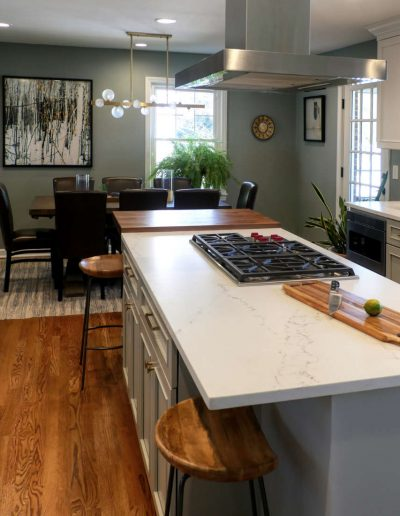 Open Plan Kitchen and Dining Room in Bergen, NJ