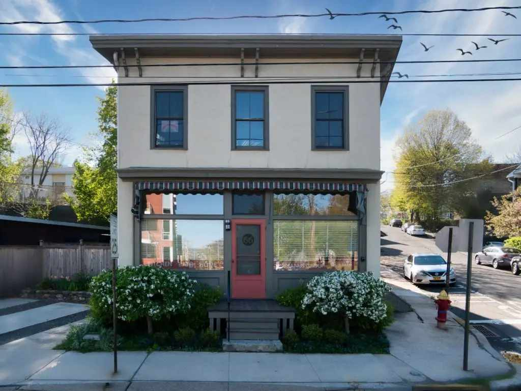 McManus Group Inc Kitchen Bath Home mixed use building, vintage 1895 store front in Nyack NY